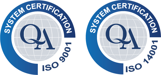 System Certification ISO 9001 + ISO 14001
